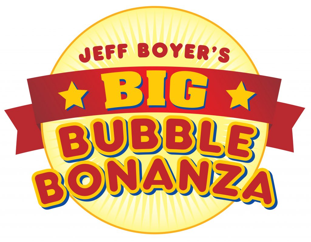 Jeff Boyer's Big Bubble Bonanza Logo