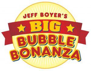 Jeff Boyer's Big Bubble Bonanza Logo