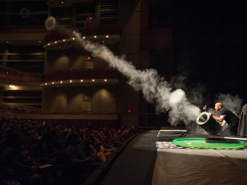 JBP Toroid Launcher Fog Bubblepalooza Austin Long Center